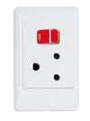 Dedicated Plug Outlet 16amp -WHITE - FOR Power Skirting