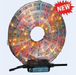 FlexiLight 13mm dia 10meter - 3 Colour chasing with Controller