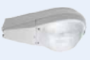 Street Light Fitting 250Watt ES Lamp Fitting - Aluminium +Glass